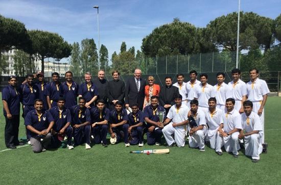 Interreligieux : l'équipe de cricket du Vatican face aux musulmans