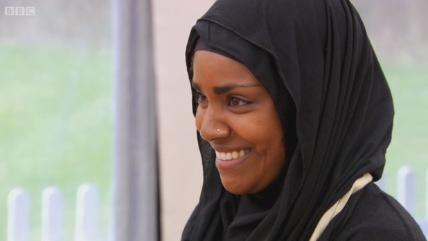 Nadiya Hussain, grande gagnante de l'émission britannique The Great British Bake Offest 2015.