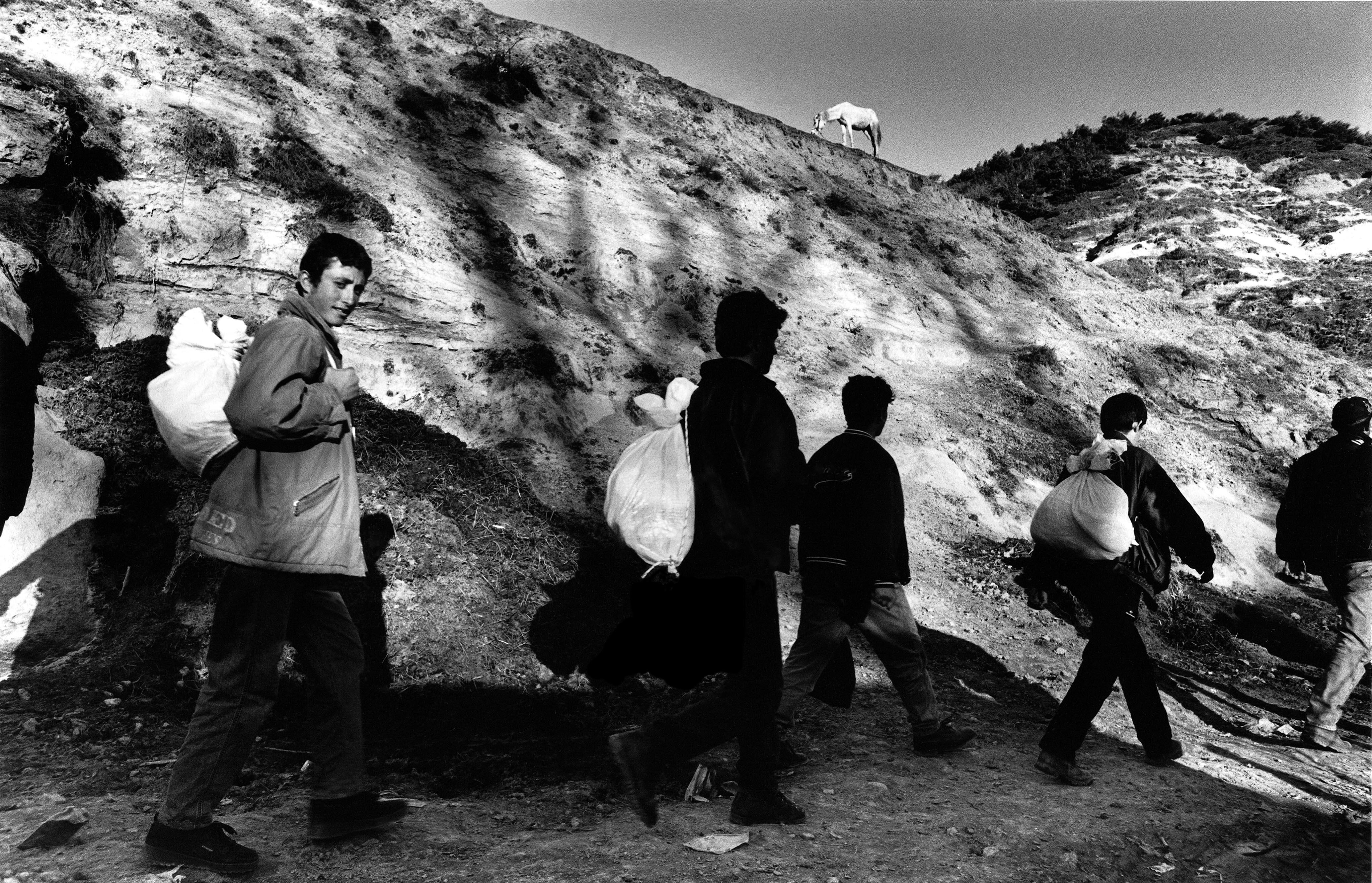 « Go No Go », les frontières de lEurope, 1988-2002 Albanie. © Ad Van Denderen