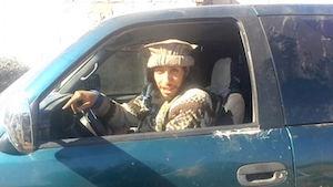 Abdelhamid Abaaoud, ici en Syrie dans une vidéo en 2014.