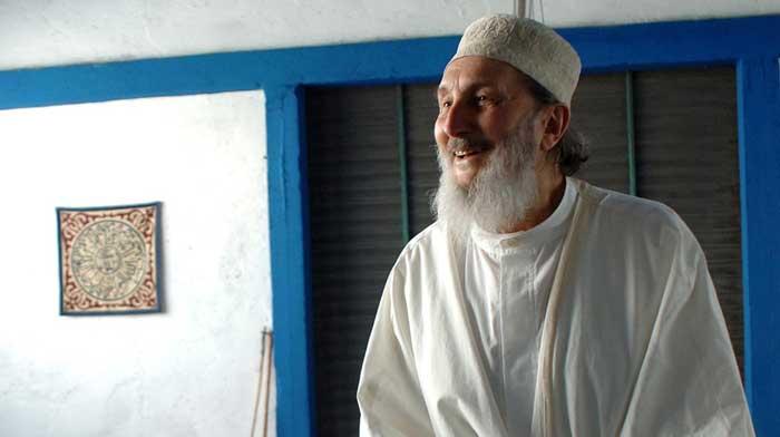 Shaykh Abd-al-Wahid Pallavicini dans la mosquée de Via Meda, à Milan. (Photo : DR)