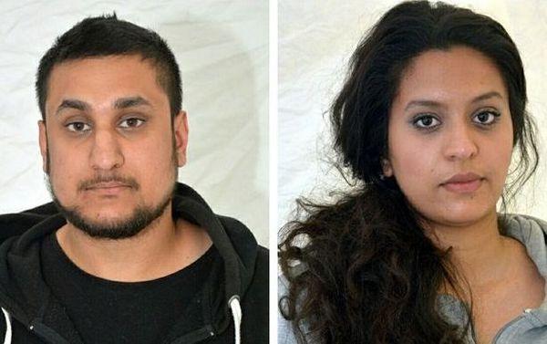 Mohammed Rehman et Sana Ahmed Khan, condamnés à la prison à vie, mercredi 30 décembre, pour avoir préparé un attentat à Londres.