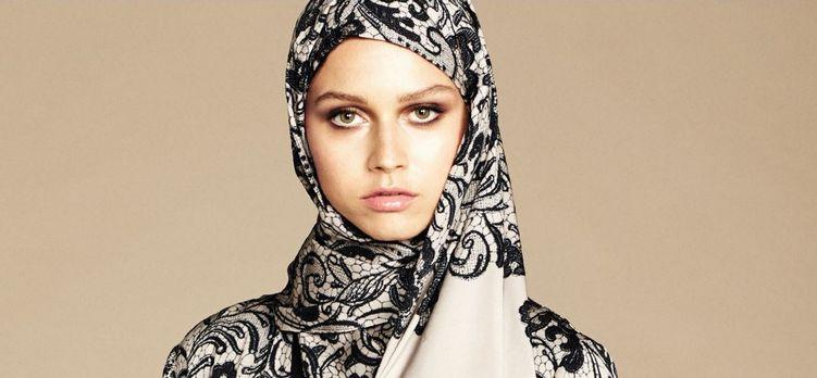La marque italienne Dolce & Gabbana a lancé mardi 5 janvier une collection de hijab à destination de la clientèle fortunée du Moyen-Orient. © Dolce & Gabbana