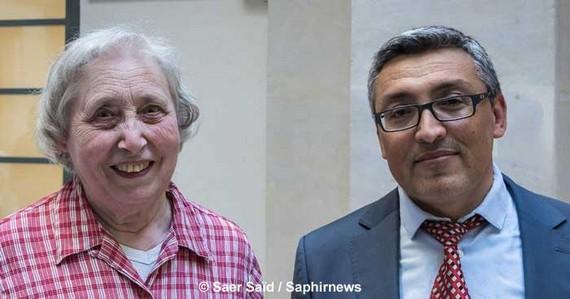 Béatrix Dagras et Haydar Demiryurek sont coprésidents du Groupe d'amitié islamo-chrétienne (GAIC).