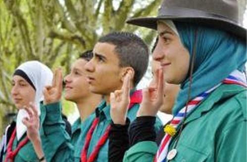 Les jeunes en France en 2016. La promesse des Scouts Musulmans de France