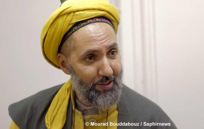 Abd el Hafid Benchouk est président de l'association Adab, représentant de la voie soufie Naqshbandi en France et délégué de la Fraternité islamique des artisans de paix.