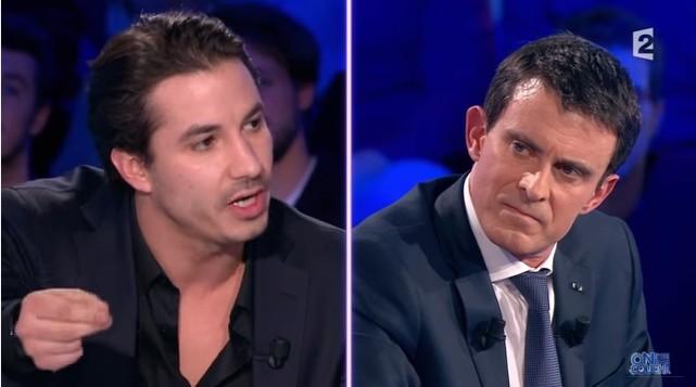Jeremy Ferrari vs Manuel Valls : « Vous êtes en guerre, pas nous »