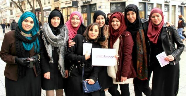 La Journée mondiale du hijab interdite à Lyon