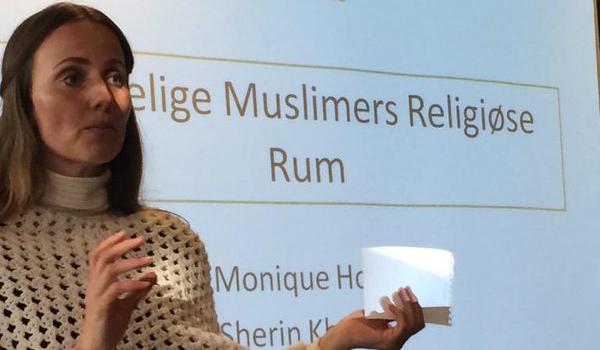Sherin Khankan, intellectuelle danoise, est à l'origine de la première mosquée pour femme à Copenhague.