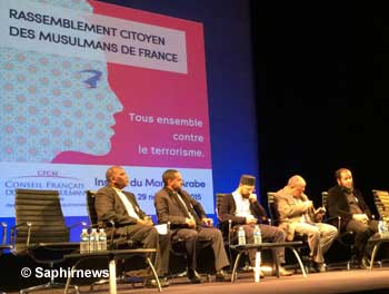 Une synthèse des allocutions « Agir contre le terrorisme », prononcées lors du Rassemblement citoyen des musulmans de France, sera diffusée à l'occasion de l'instance de dialogue avec l'islam.