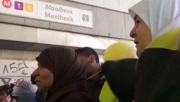 Bruxelles : un hommage rendu par des musulmans sur les lieux de l'attentat (vidéo)