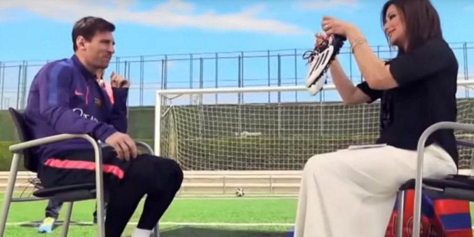 Lionel Messi créé un scandale en Égypte en offrant ses crampons