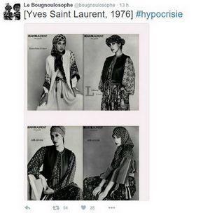 Mode islamique : quand Yves Saint-Laurent et Pierre Bergé en faisaient la promo