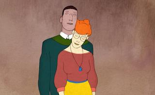 Le sens du toucher de Jean-Charles Mbotti Malolo est un film d'animation où les deux personnes centraux n'osent s'avouer leur amour réciproque, le geste se substitue alors à la parole pour donner une chorégraphie.