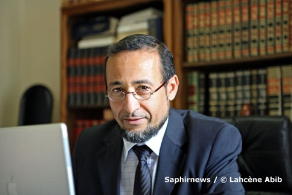 Le théologien et imam de la mosquée de Bordeaux, Tareq Oubrou.