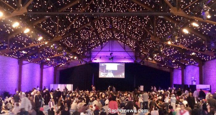 La rencontre nationale de PSM, organisée samedi 7 mai, a attiré près de 5 000 personnes aux Docks de Paris (Seine-Saint-Denis).