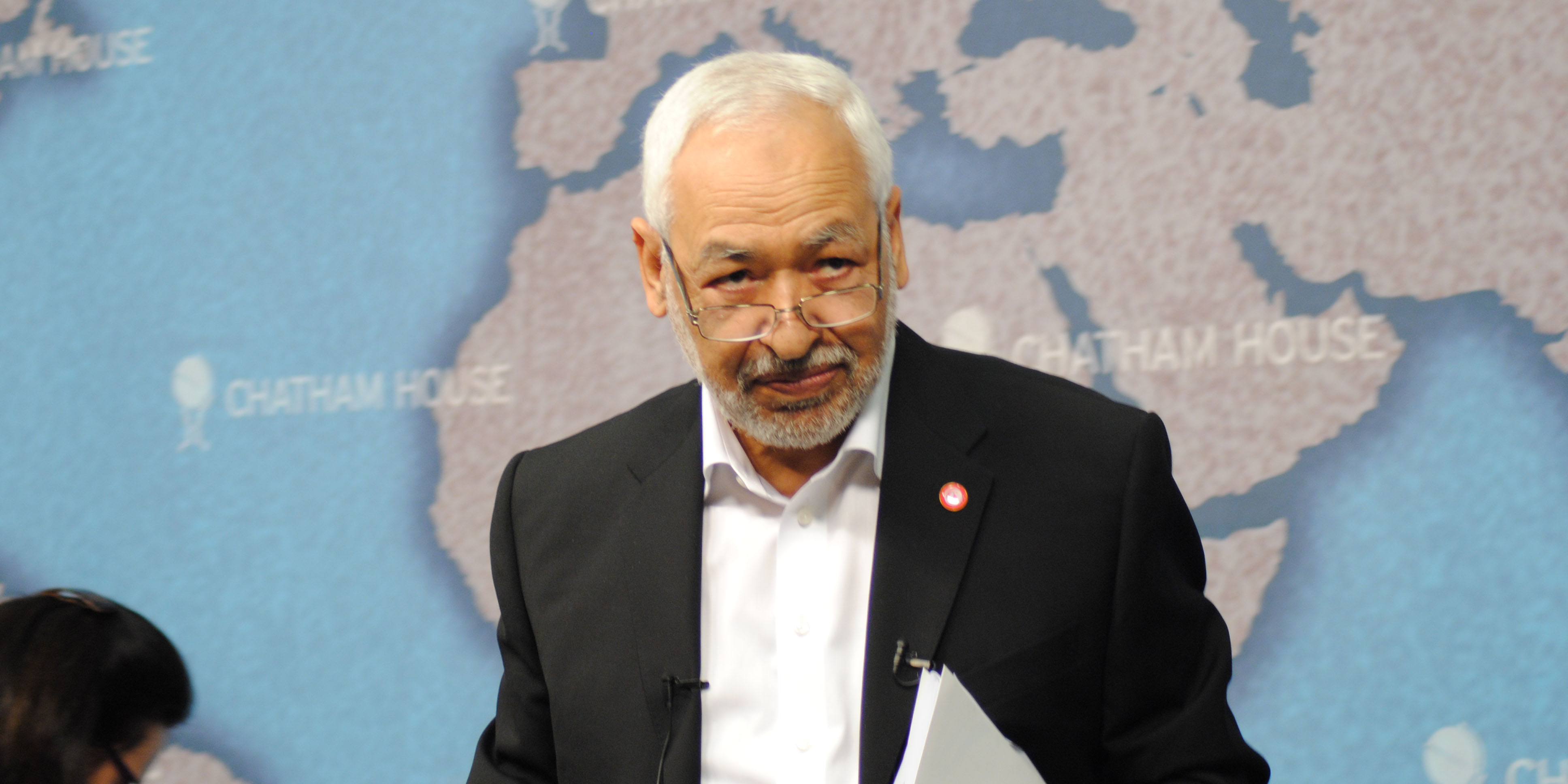 Rached Ghannouchi, président d'Ennahdha, largement réélu ce dimanche 22 mai lors du 10e congrès du parti.