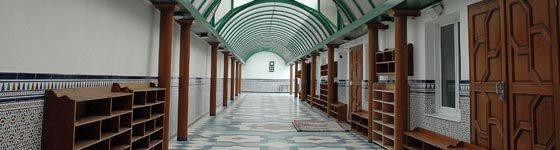 Le deuxième étage de la mosquée de Lille-sud accueille depuis 2003 le lycée Averroès.