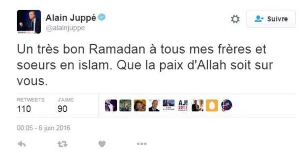 Ramadan : un lycéen poursuivi par Juppé pour un faux tweet