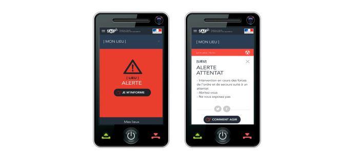 SAIP, une appli du gouvernement pour alerter en cas d'attentats