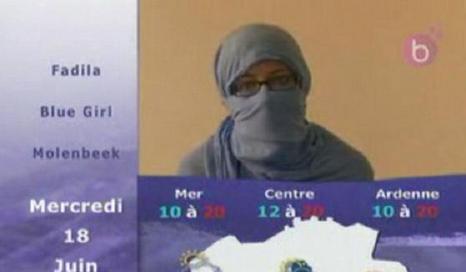 Une miss météo voilée à la télévision belge fait rire jaune