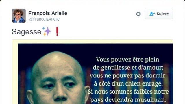 Islamophobie : une élue poursuivie pour son tweet citant l'Hitler de Birmanie