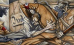 The Capture, œuvre de Nate Ripp, illustre la Nuit de cristal, le pogrom perpétré par les Nazis contre les Juifs, qui se déroula dans la nuit du 9 au 10 novembre 1938. Près de 200 synagogues et lieux de culte furent détruits, 7 500 commerces tenus par des Juifs saccagés ; une centaine de Juifs furent assassinés et près de 30 000 furent déportés en camp de concentration.