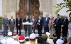 À la Grande Mosquée de Paris, Gérard Collomb se pose comme le défenseur de la liberté des cultes