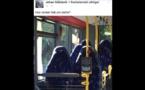Norvège : des identitaires confondent les sièges d'un bus avec des femmes en burqa