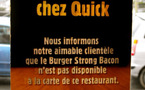 Quick « halal » de Roubaix : la police judiciaire au rendez-vous