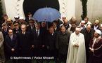 Hommage rendu aux soldats musulmans morts pour la France durant les deux guerres