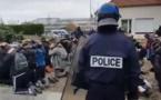 Les images chocs de l'interpellation des lycées à Mantes-la-Jolie indignent