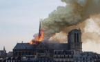 Notre-Dame de Paris, joyau du patrimoine français, ravagé par un incendie