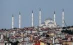 La plus grande mosquée de Turquie inaugurée avant le début du Ramadan par Erdogan