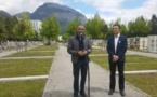 Le premier carré musulman de la ville de Grenoble inauguré