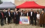 Une cérémonie pour célébrer le début de l'extension de la mosquée de Villeurbanne