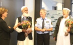 Norvège : les fidèles qui ont maîtrisé l'assaillant de la mosquée d'Oslo remerciés comme des héros par la police
