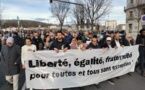 A Bayonne, une marche de solidarité aux victimes de l'attaque contre la mosquée