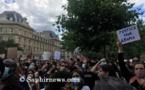 Insultes antisémites : « On est tous juifs », lance Assa Traoré à la manifestation contre le racisme à Paris (vidéo)