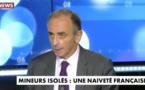 Eric Zemmour déverse sa haine contre les migrants mineurs, « tous des violeurs, des voleurs, des assassins »