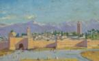 Un tableau de Winston Churchill représentant la mosquée Koutoubia au Maroc mis aux enchères