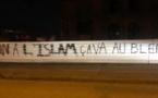 A Strasbourg, des tags islamophobes retrouvés sur le chantier de la mosquée Eyyub Sultan