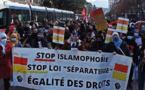 Des manifestations contre la loi séparatisme qui mobilisent peu en France
