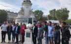 Un « Panthéon des oubliés » a été dévoilé dimanche 19 septembre à Paris par des associations antiracistes. © SOS Racisme