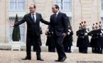 Hollande blanchit Sissi à Paris, les droits de l'homme en Egypte à la trappe