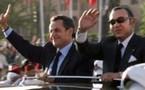Nicolas Sarkozy en visite d'Etat au Maroc