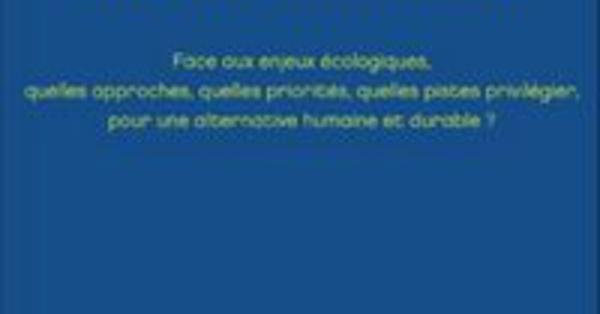 Ethique et environnement, de Jamel Khermimoun