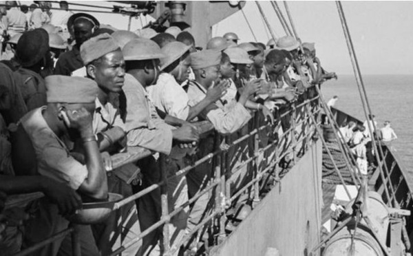 Les tirailleurs naufragés de la Grande Guerre, une mémoire à réhabiliter