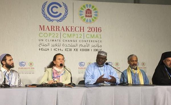 COP22 : les leaders religieux s'activent pour le désinvestissement des énergies fossiles