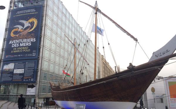 Les aventuriers des mers jettent l'ancre à l'Institut du monde arabe